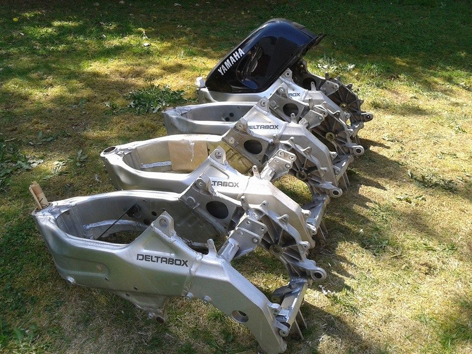 3ma Yamaha Tzr250 Reverse Cylinder Chassis