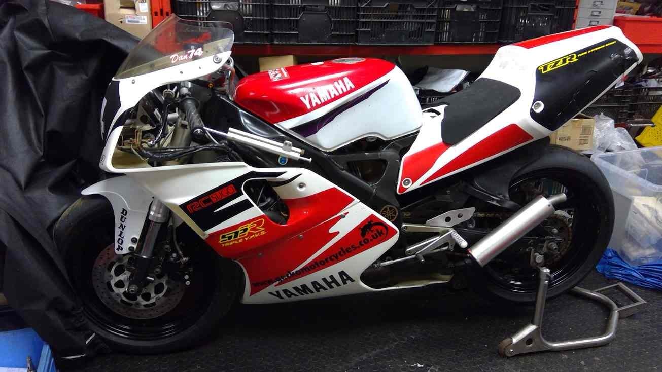 1995 3XV Yamaha TZR250-SPR with RC Sugo race kit