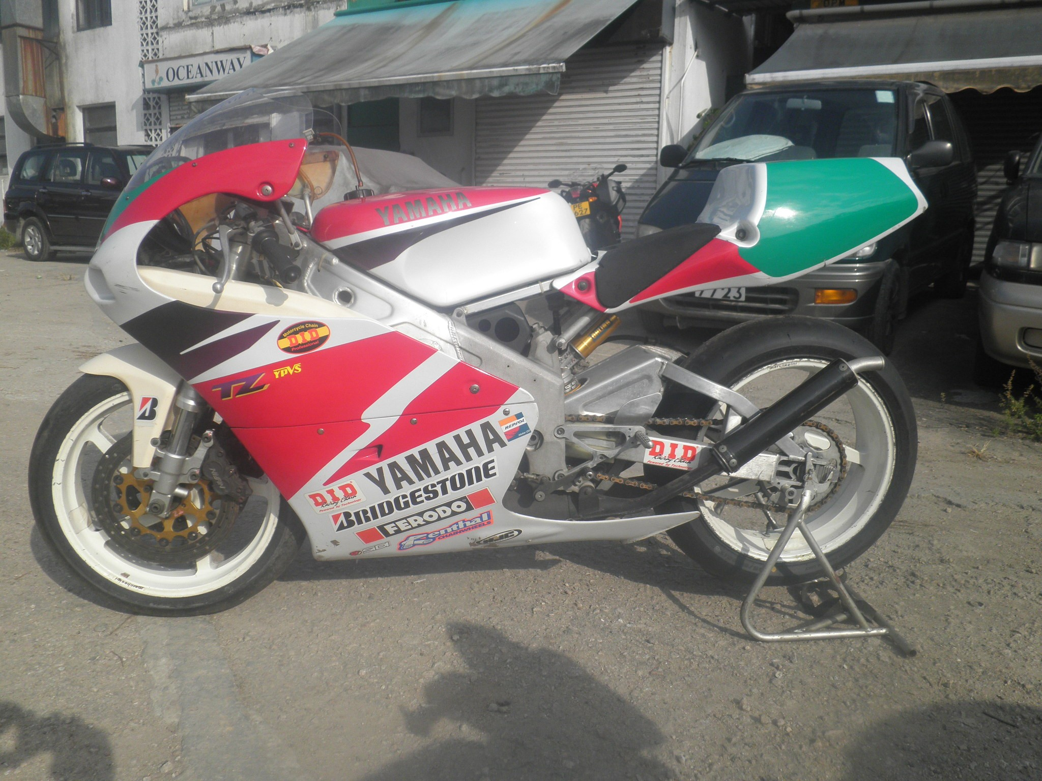 1997 Yamaha TZ250 4TW
