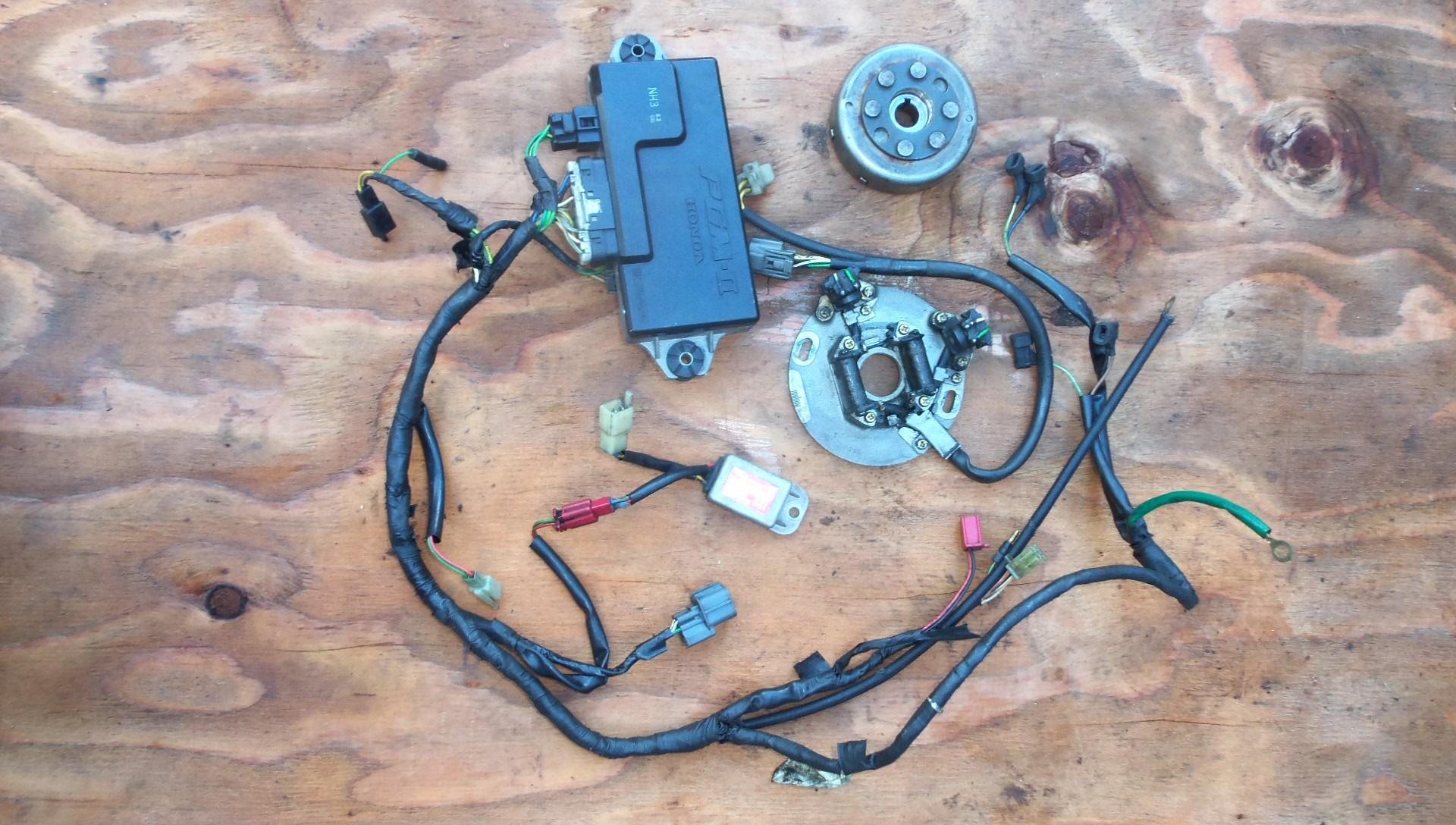 1991 Yamaha Blaster Wiring Diagram