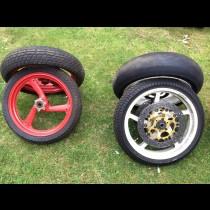 1986-1999 Yamaha TZ250 wheels