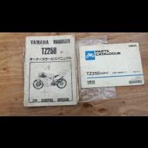 4DP Yamaha TZ250 1994 manuals