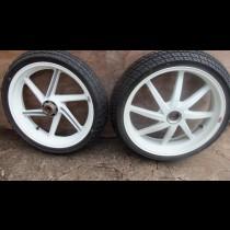 HRC front rear wheels single sided Honda